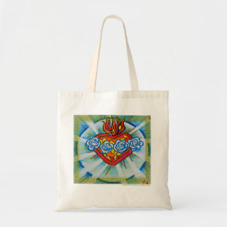 Sacred Immaculate Heart of Mary Budget Tote Bag