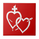 Sacred & Immaculate Hearts Tile