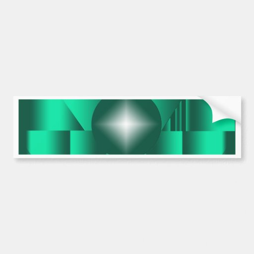 Sacred Keyhole Bumper Sticker