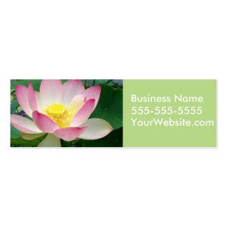 """Sacred Lotus"" Mini Business Card"