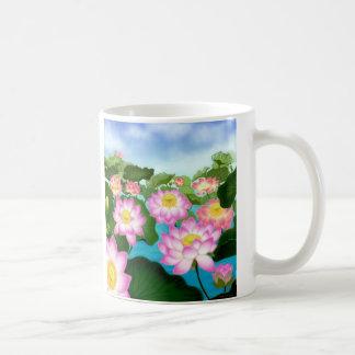 Sacred Lotus Plants Coffee Mug