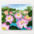 Sacred Lotus Plants Mouse Pad