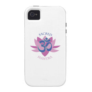 Sacred Mantra iPhone 4/4S Cases