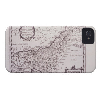 Sacred Map of Palestine, The Promised Land iPhone 4 Case-Mate Case