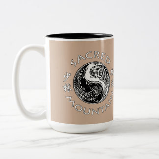 Sacred Mountain F&A 15 oz Two-Tone Coffee Mug