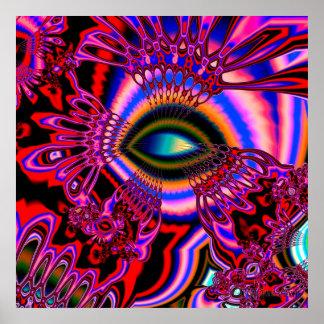 """""""sacred mushrooms"""" poster"""