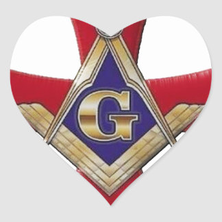 Sacred Order of the Brotherhood Heart Sticker