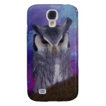 Sacred owl and fantasy sky samsung galaxy s4 case