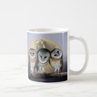 Sacred Owl North American Indian Coffee Mug