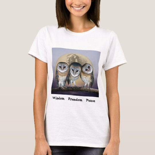 Sacred Owl North American Indian T-Shirt