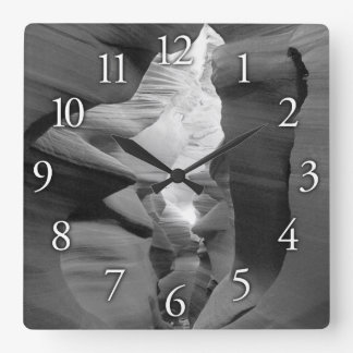"""""""Sacred Passage"""" Square or Round Wall Clock"""
