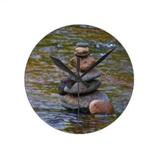 Sacred rock pile Sedona Creak Wallclock