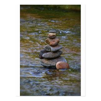 Sacred rock pile Sedona Creak Postcard