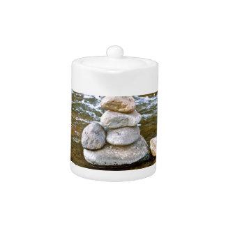 Sacred rock pile Sedona Creak Teapot