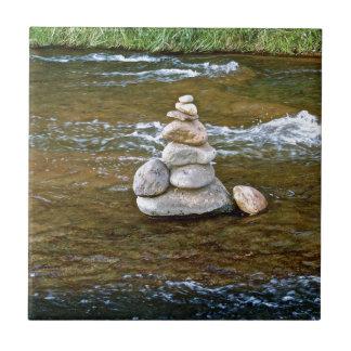 Sacred rock pile Sedona Creak Tile