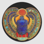 Sacred Scarab of Ancient Egypt Sticker