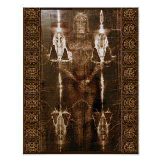 SACRED SHROUD OF TURIN POSTER