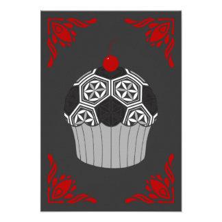 sacred soccer cupcake card