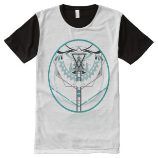 sacred solar glyph All-Over-Print T-Shirt