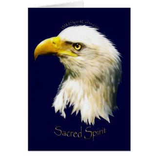SACRED SPIRIT Bald Eagle Greeting Card