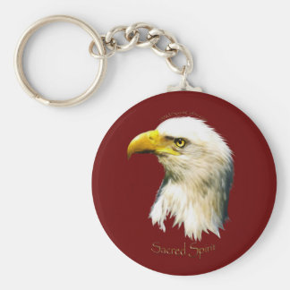 SACRED SPIRIT Bald Eagle Keychain