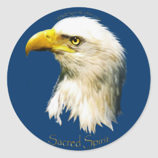 SACRED SPIRIT Bald Eagle Stickers