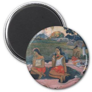 Sacred Spring: Sweet Dreams - Paul Gauguin Magnet