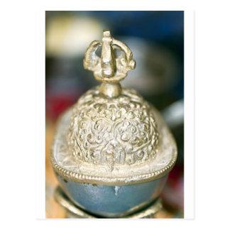 Sacred Tibetan Ornament Postcard