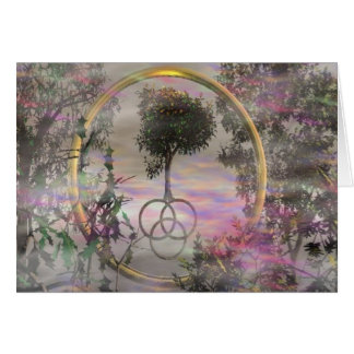 Sacred Tree Greeting Card