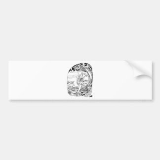 Sacred Tree of Fertility Bumper Stickers