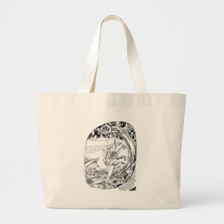 Sacred Tree of Fertility Canvas Bags