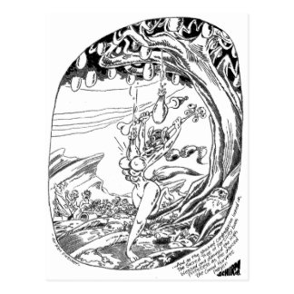 Sacred Tree of Fertility Postcard