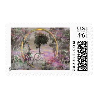 Sacred Tree Stamp