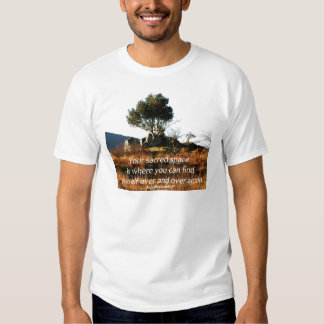 Sacred tree with Joseph Campbell quote.jpg Tee Shirts