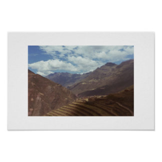 Sacred Valley, Peru Poster
