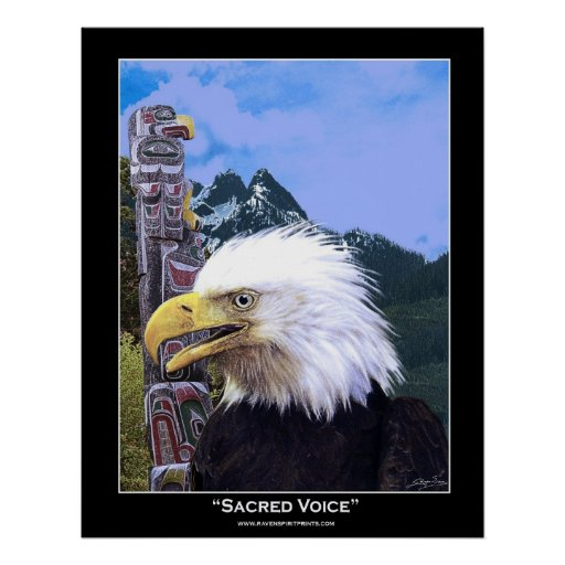 SACRED VOICE ~ Art Poster