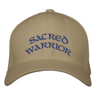 SACRED WARRIOR EMBROIDERED BASEBALL HAT