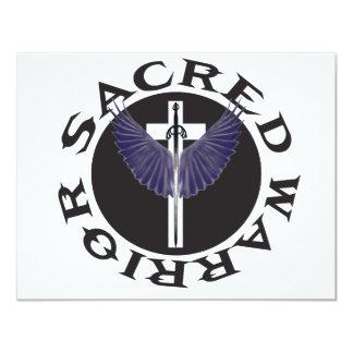 sacred-warrior-logo card