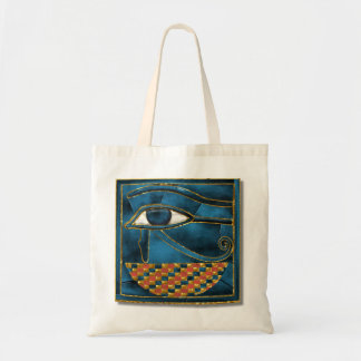 Sacred Wedjat Tote Bag
