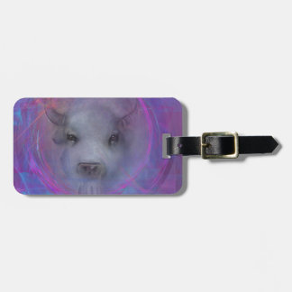 """Sacred """"White Buffalo"""" """"native american"""" gifts Tag For Luggage"""