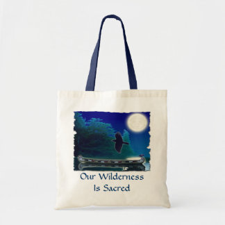 SACRED WILDERNESS Collection Budget Tote Bag