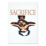 "Sacrifice 5"" X 7"" Invitation Card"