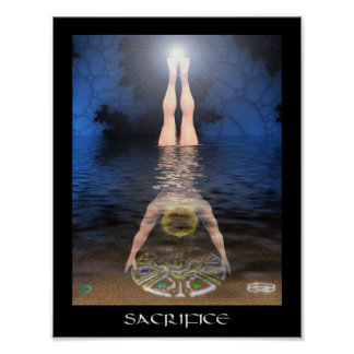 Sacrifice (8.5 by 11) poster