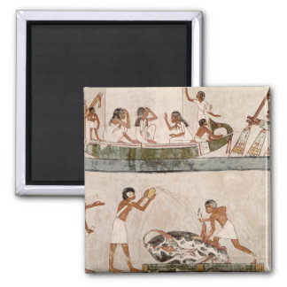 Sacrifice and purification of a bull 2 inch square magnet