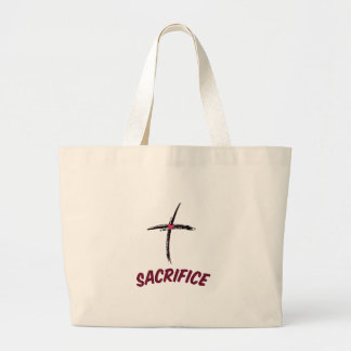 Sacrifice Jumbo Tote Bag
