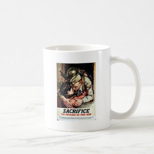 Sacrifice Classic White Coffee Mug