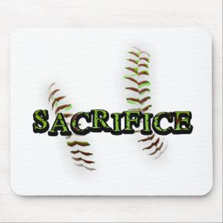 Sacrifice Fastpitch Softball Mouse Pad