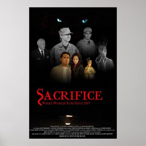 Sacrifice Movie Poster,Cast Version Poster