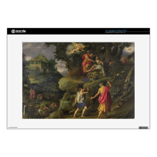Sacrifice of Isaac, 1601 (oil on panel) Laptop Decals