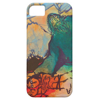 Sacrifice of Isaac by Adi Holzer iPhone SE/5/5s Case